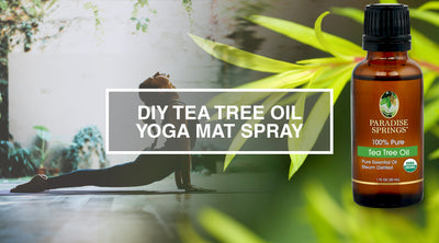 DIY Tea Tree Oil Yoga Mat Spray