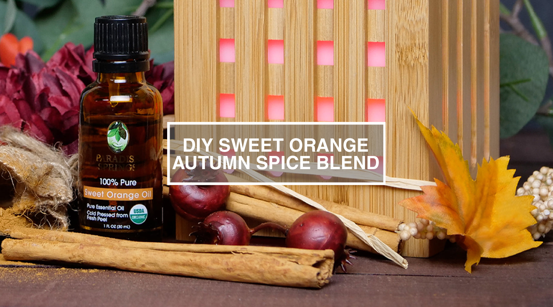 DIY Sweet Orange Autumn Spice Blend