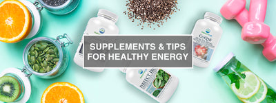 Supplements & Tips for Healthy Energy Levels
