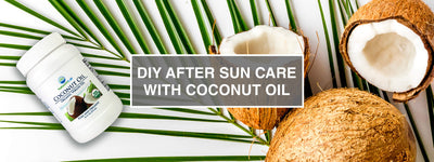 DIY After Sun Care with Coconut Oil