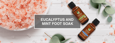 DIY Eucalyptus Peppermint Foot Soak
