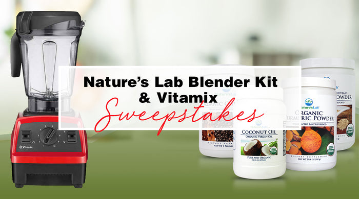 Win a Vitamix Blender & a Nature's Lab Blender Kit - $400 Retail Value!