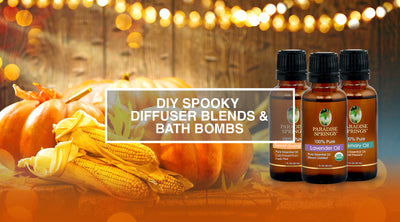 DIY Spooky Diffuser Blends & Bath Bombs