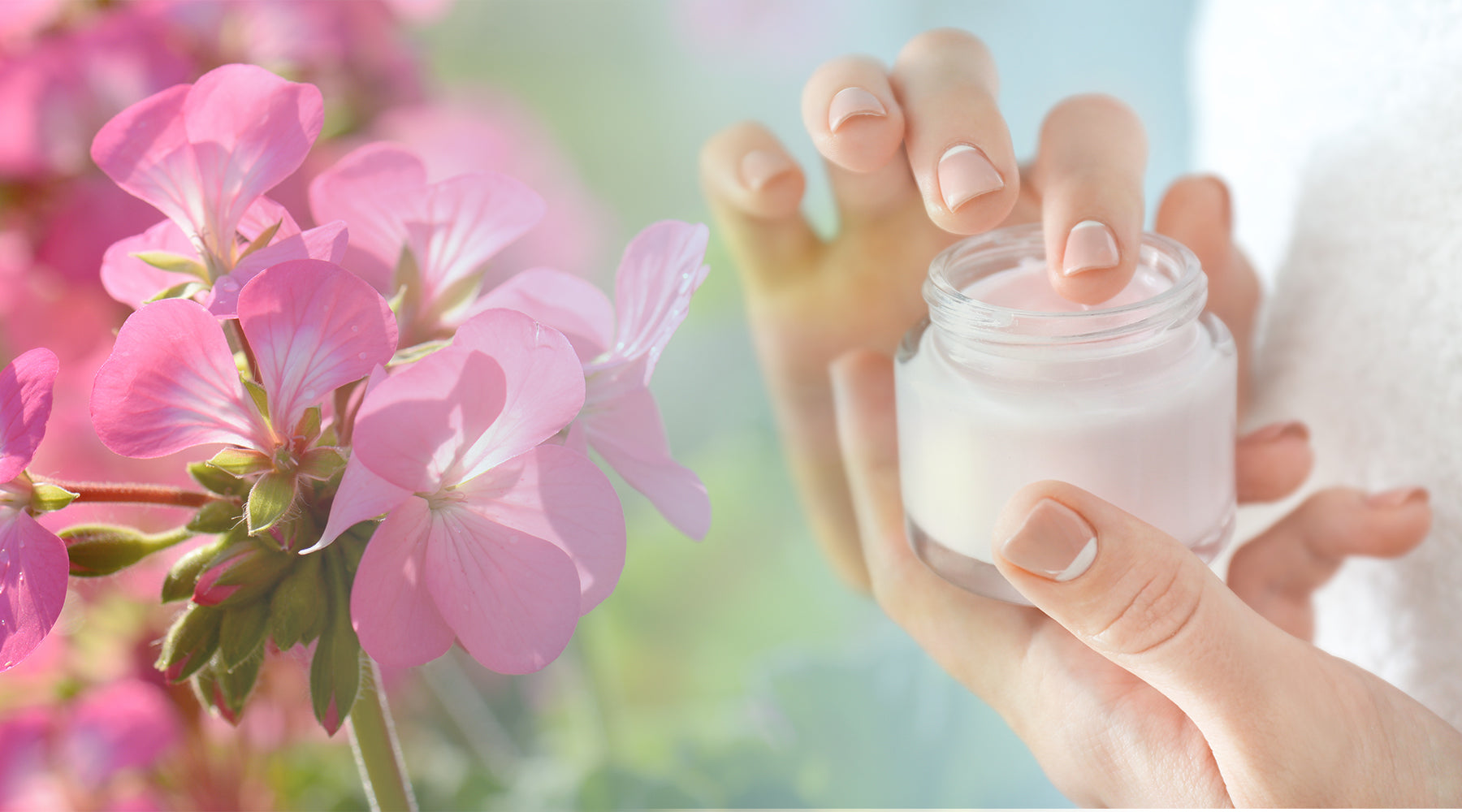 DIY Intensive Geranium Eye Cream Recipe