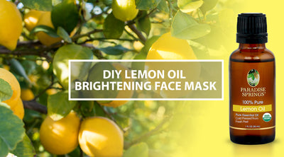 DIY Lemon Oil Brightening Face Mask