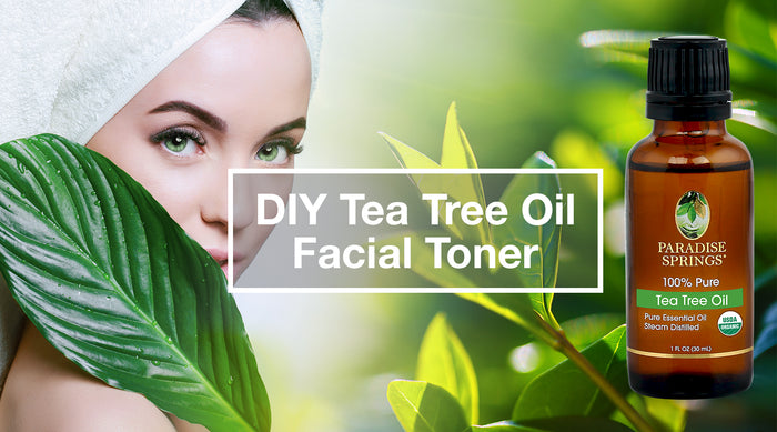 DIY Tea Tree Oil Facial Toner