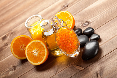 DIY Sweet Orange and Honey Body Wash