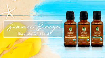 Summer Breeze DIY Room Spray, Sugar Scrub & Lotion Bars