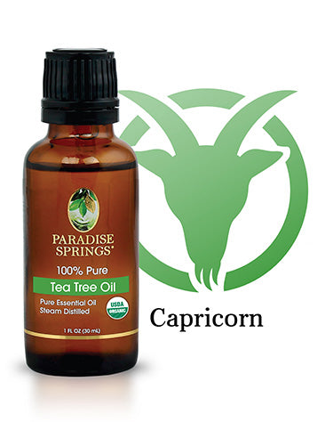 Paradise Springs Capricorn Essential Oil - Tea Tree