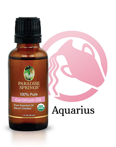 Paradise Springs Aquarius Essential Oil - Geranium