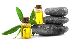 Tea Tree Oil and Rocks