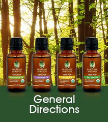 Essential Oil General Directions