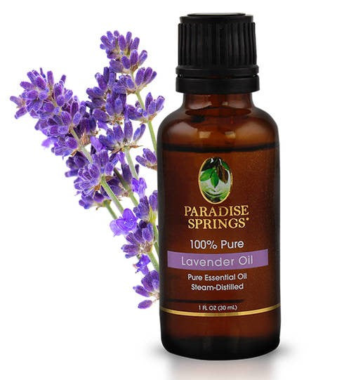 Lavender Oil Bottle