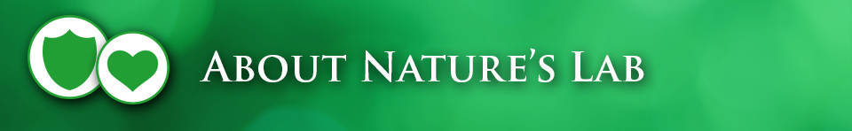 About Nature's Lab Banner