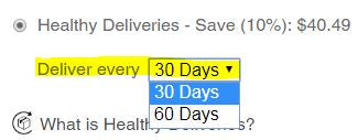 Health Deliveries Interval