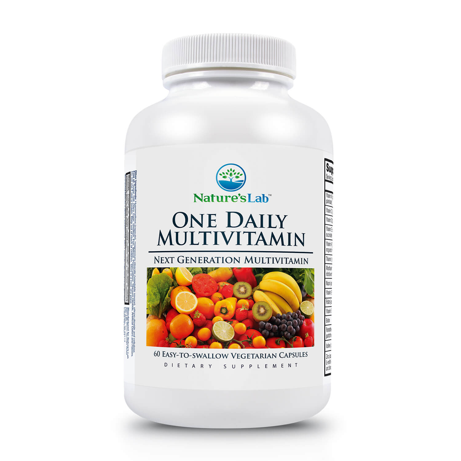 Nature's Lab One Daily Multivitamin - 60 Capsules
