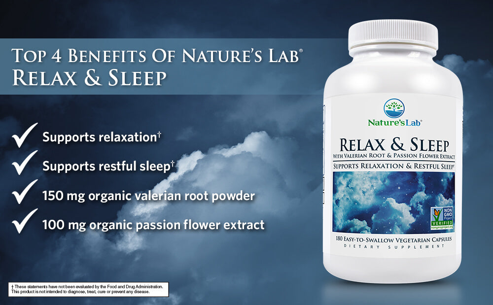 Nature's Lab Relax and Sleep