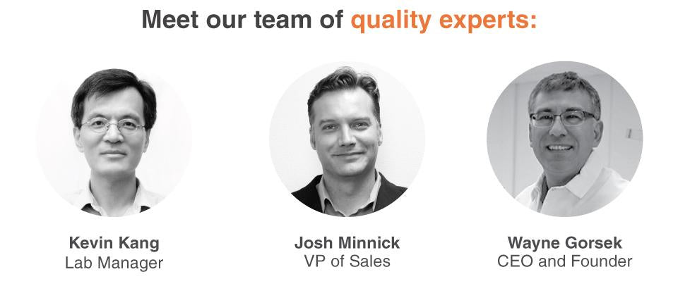 Meet our team of quality experts