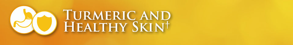 turmeric and healthy skin banner
