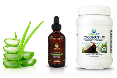 What You Will Need - Jojoba and Coconut Oil