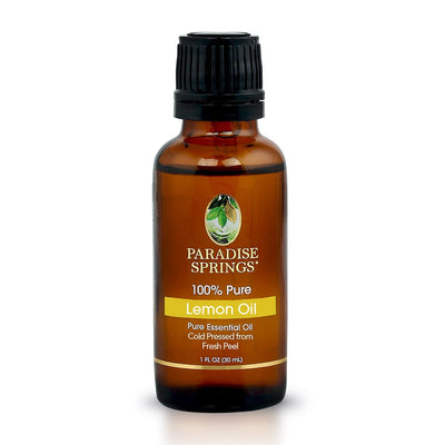 Paradise Springs Lemon Oil Bottle