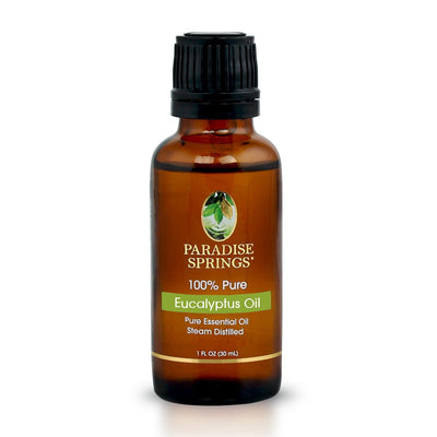 Paradise Springs Eucalyptus Oil Bottle