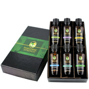 Paradise Springs Essential Oil Six Pack Bottles in Open Box