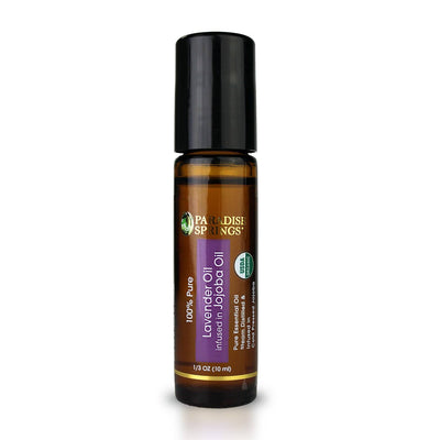 Paradise Springs Organic Lavender Roll-On Bottle