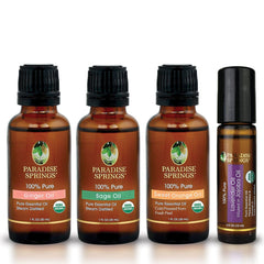 Paradise Springs Organic Refresher Kit Bottles