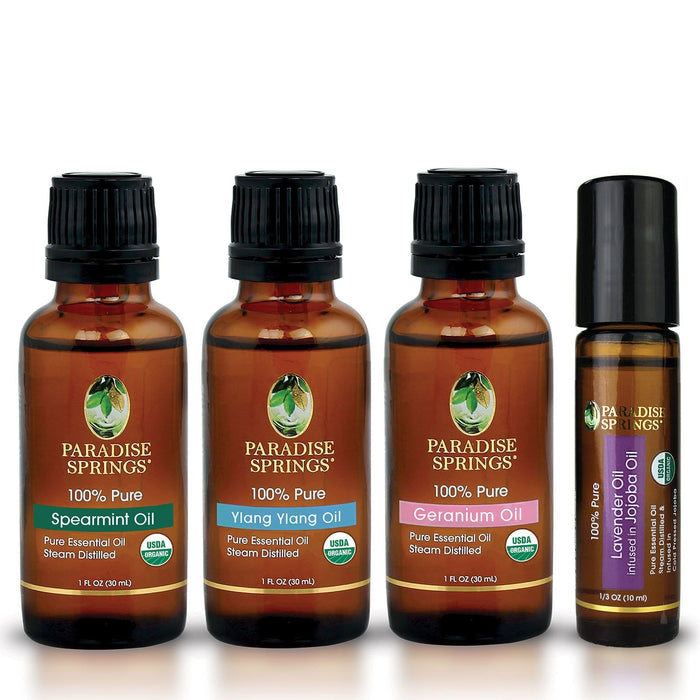 Paradise Springs Organic Bloom Kit Bottles