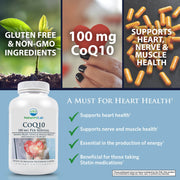 Nature's Lab CoQ10 100mg 120 capsules Benefits
