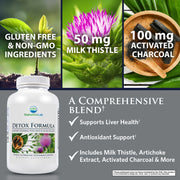 Nature's Lab Detox Formula 90 Capsules Benefits