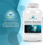 Nature's Lab EnZym Balance 180 capsules Ingredients