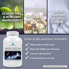 Natures's Lab Gentle Sleep Aid 60 capsules Benefits