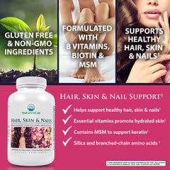 Nature's Lab Hair, Skin, & Nails 250 capsules