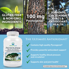Nature's Lab Pycnogenol 100mg 30 capsules Benefits