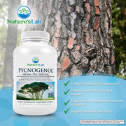 Nature's Lab Pycnogenol 100mg 30 capsules Info