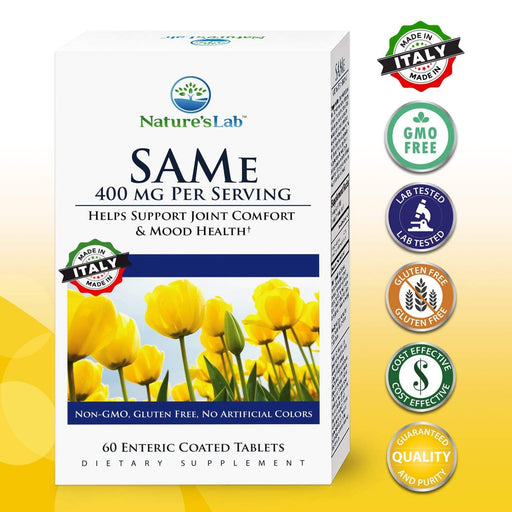 Nature's Lab SAMe 400 mg - 60 tablets
