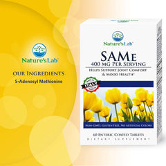 Nature's Lab SAMe 400 mg - 60 tablets Ingredients