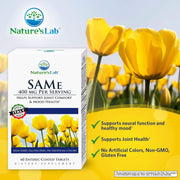 Nature's Lab SAMe 400 mg - 60 tablets Benefits