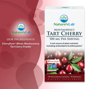 Nature's Lab Tart Cherry 500mg 90 capsules Ingredients