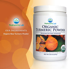 Nature's Lab Organic Turmeric Powder 10.4 oz (297 g) Ingredients