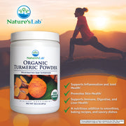 Nature's Lab Organic Turmeric Powder 10.4 oz (297 g) Info