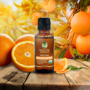 Paradise Springs Organic Sweet Orange Oil - 1 oz (30 mL)