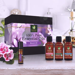 Paradise Springs Organic Bloom Kit, 100% Pure Essential Oils