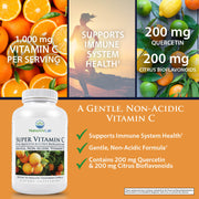 Nature's Lab Super Vitamin C 1000mg - 120 capsules