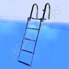 Four Step Heavy Duty Boat Ladder LED Main