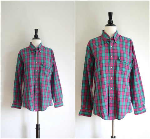 Levi's Colorgraph button down plaid shirt