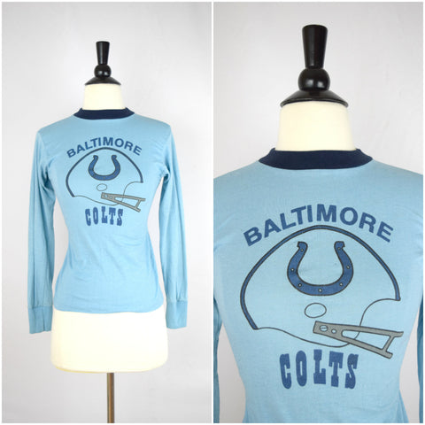 Kids Baltimore Colts vintage football shirt