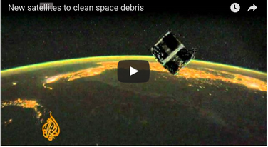 Space Waste: Debris from Above